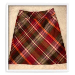 Talbots A-Line Wool Skirt